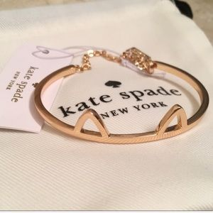 NWOT Kate Spade kitty cat bracelet